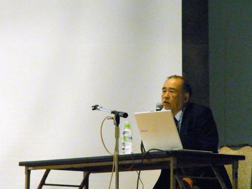 JAUS(日本水中科学協会)シンポジウム 須賀次郎氏