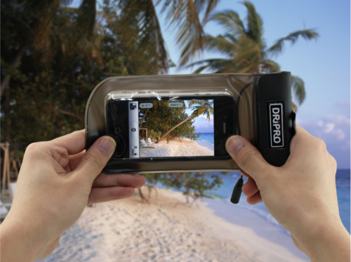 iphone・ipad防水ケース(水中撮影など)