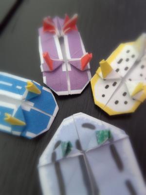 ウミウシ折り紙