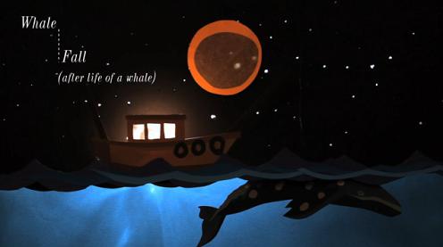 「海で死んだクジラ」アニメーション動画