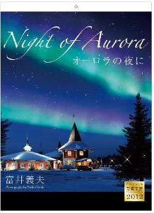 富井義夫2012「オーロラの夜に/Night of aurora」壁掛