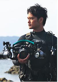 第20回串本海中フォトコンテスト審査員・古見きゅう