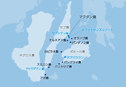 フィリピン・マクタンの地図