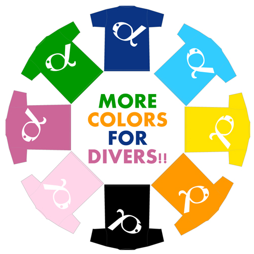 前の記事: プレオープン期限定Tシャツ、マリンダイビングフェアで販売中!