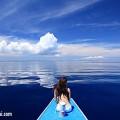 セブ島・雲の形