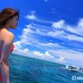 セブ島ロケ・雲の形