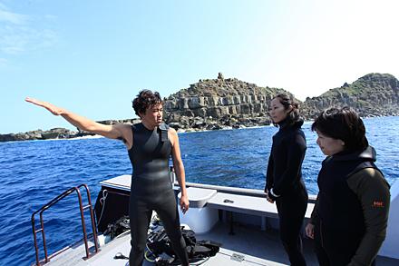 西表島のダイビング