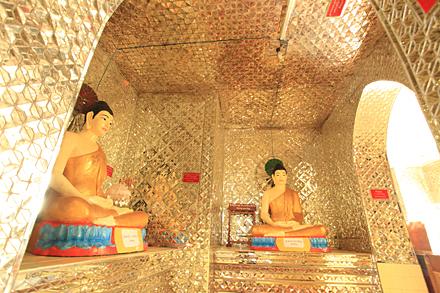 ミャンマー・カントンの寺院