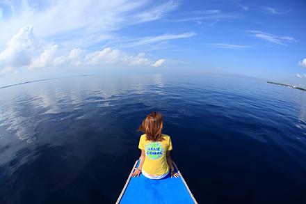 フィリピン・ボホールの海