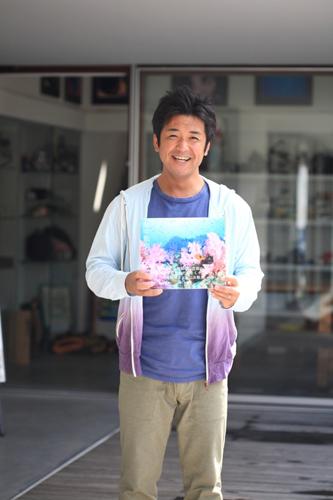 鍵井靖章「海中散歩」