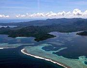 ポンペイ ブラックマンタが住む神秘の島