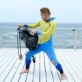 ダイビング器材をスムーズに背負う方法(成功例)