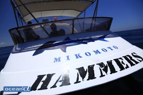 神子元ハンマーズのボート