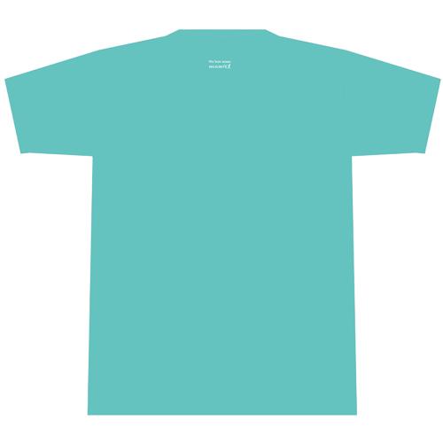 新作Tシャツ・OCEAN PEOPLESバージョン(アクア)
