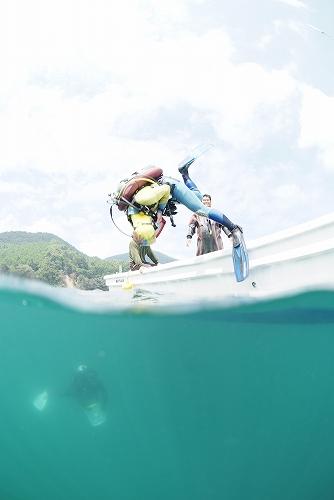 女川・たげなの海のダイビング