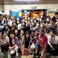 越智隆治「まいごになった子どものクジラ」出版記念パーティー記念写真