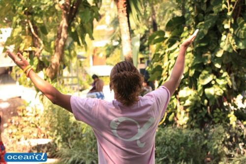 セブ島での寺山英樹