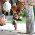 ニューカレドニア、イル・デ・パンの赤ちゃん