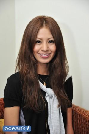 モデル:佐久間沙和さん
