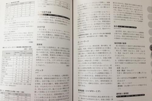 最新ダイビング用語事典(JAUS編)