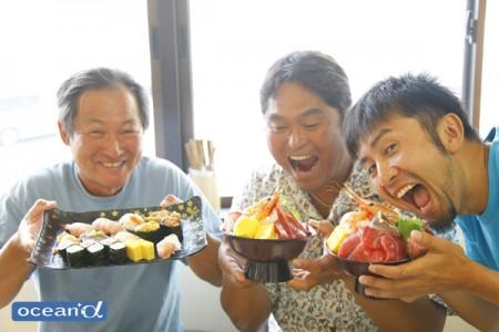 女川の寿司屋「おかせい」