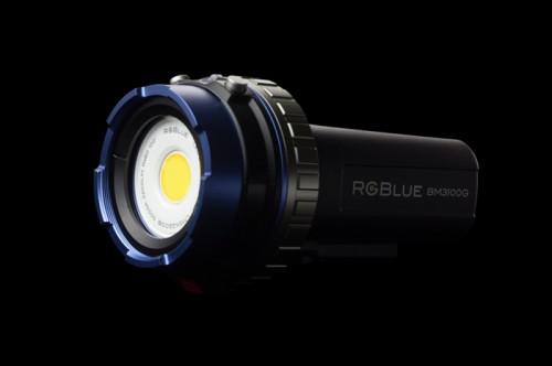 新しい水中ライト・RGBLUE(アールジーブルー)