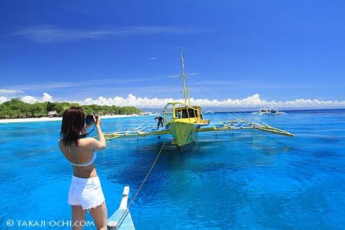 偏光フィルタで撮ったセブ島(撮影:越智隆治)