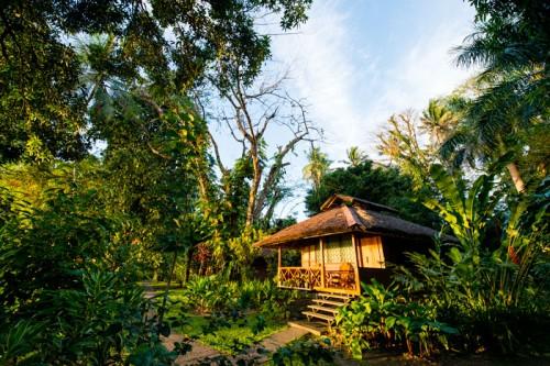 パプアニューギニアのワインディプランテーションリゾート(撮影:岡田裕介)