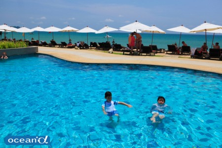 ムクダラビーチリゾートのビーチプール