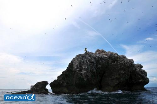 タイ湾を代表するビッグスポット「セイルロック」