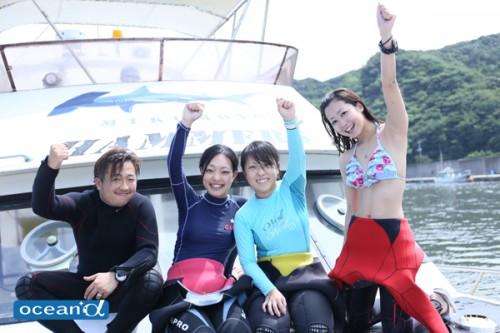 神子元島ダイビングドキュメント