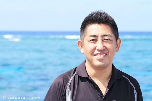 D7Sの代表、ゲンさんこと濱岡尚治さん(撮影:越智隆治)