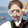 ダイビングのマスクのつけ方