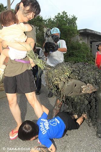 宮古島の奇祭「パーントゥ」(撮影:越智隆治)
