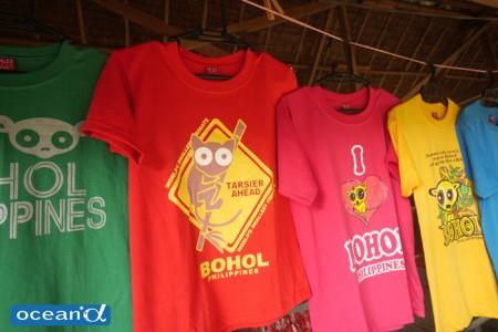 ターシャのデザインのTシャツ(撮影:越智隆治)