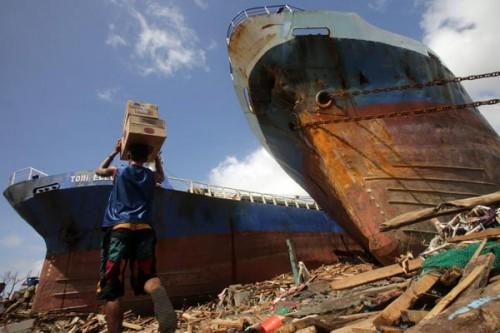 フィリピンを襲った超大型台風30号(ハイエン、ヨランダ)
