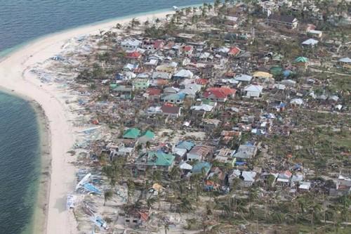 台風の被害を受けたマラパスクア