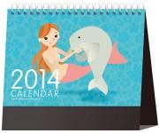 前の記事: かわいい海の生物のイラスト満載!2014年卓上カレンダー
