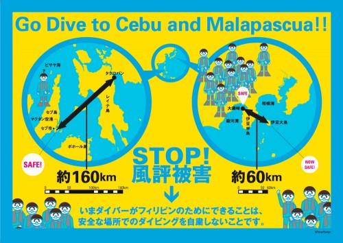 フィリピンの風評被害を防ぐインフォグラフィック