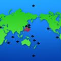 日本の海は種の宝庫マップ・地図