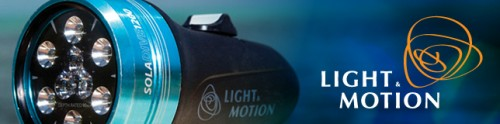 light&motionの水中ライト