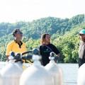 パプアニューギニアのダイビングガイド(撮影:岡田裕介)