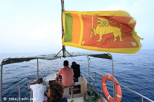 スリランカのボート(撮影:越智隆治)