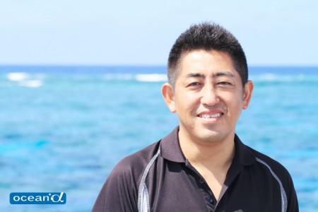 ダイブセブンシーズの濱岡尚治さん(撮影:越智隆治)