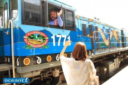 オーストラリアのキュランダ鉄道(撮影:越智隆治)