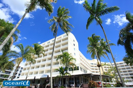 オーストラリアのホテル、リッジス トレードウインド ホテル(撮影:越智隆治)