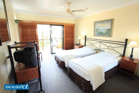オーストラリアのホテル、パームロイヤルケアンズ(撮影:越智隆治)