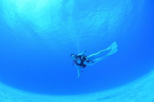 ロタの海と透明度