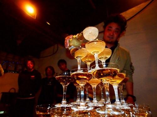 鳥取田後でのダンゴウオパーティー