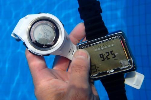 TUSAのダイブコンピュータDC Solar IQ1202